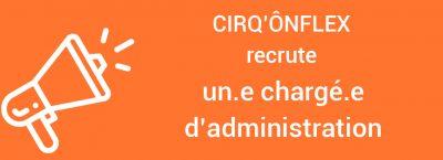 CIRQ'ONFLEX recrute