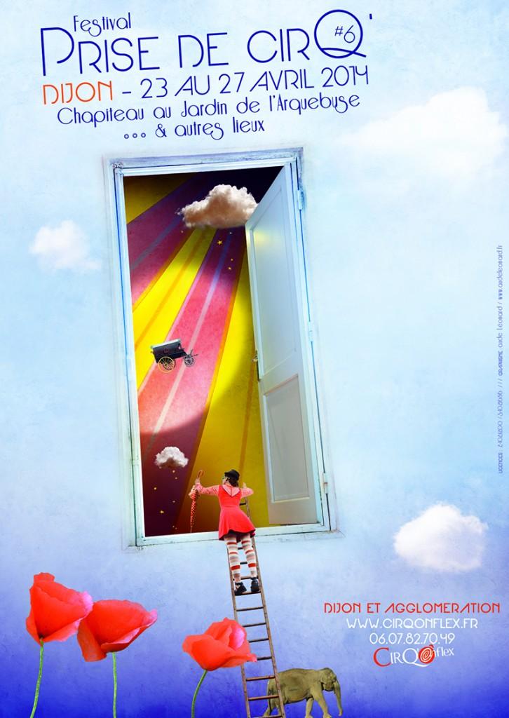 cirqonflex festival Prise de CirQ' Dijon