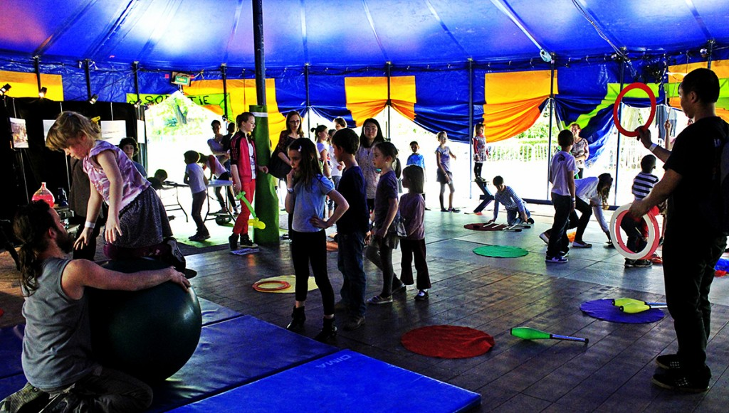 Ateliers cirque pour tous